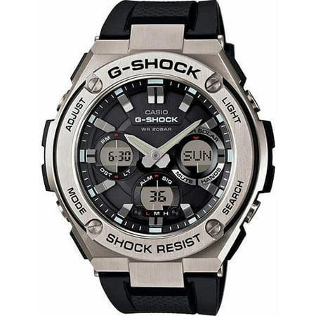 0f680fba78e4 Casio - G-Shock G-Steel Solar Power Ana-Digi Watch GSTS110-1A - Walmart.com