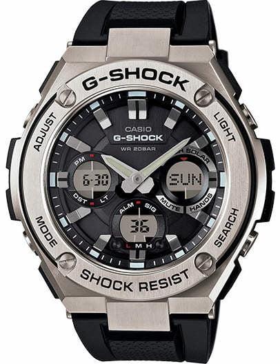 G-Shock G-Steel Solar Power Ana-Digi Watch GSTS110-1A