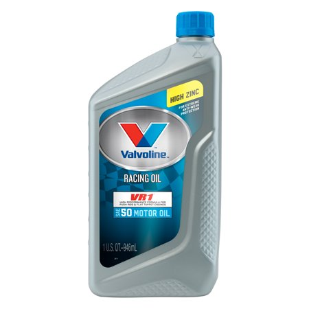 (6 Pack) Valvoline⢠VR1⢠Racing SAE 50 Conventional Motor Oil - 1