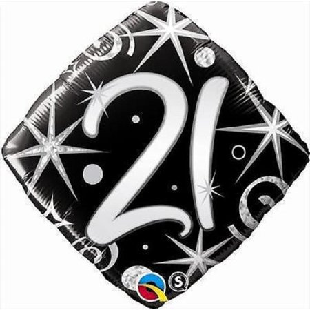 21ST Happy Birthday Mylar Foil Balloon Party Decoration 18