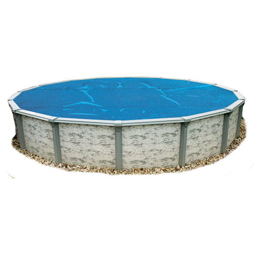 Blue Wave Solar Blanket for Above-Ground Pools, Blue, 33' Round