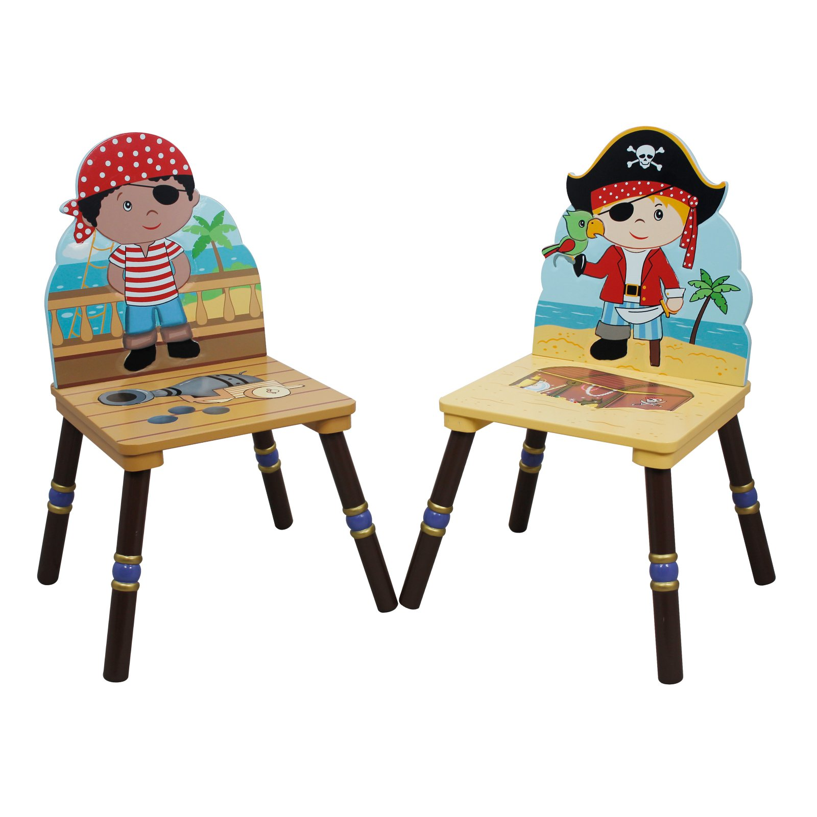 Fantasy Fields Pirates Island Set of 2 Chairs, A