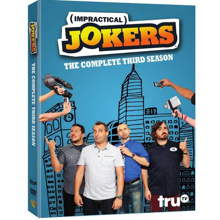 Joker Rhinestone - Impractical Jokers: The Complete Third Season (DVD)