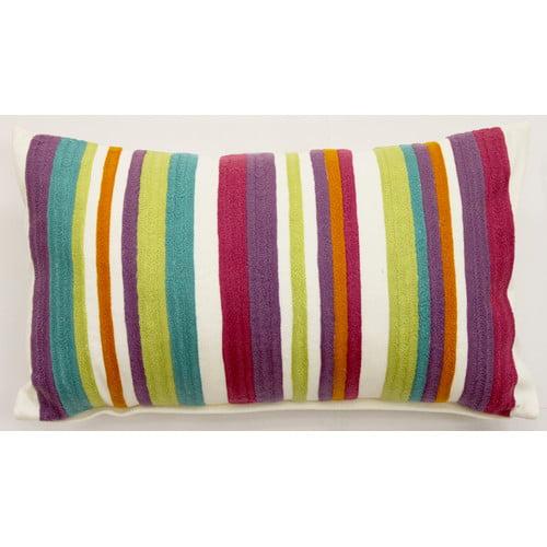 Sabira Spring Garden Throw Pillow