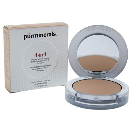 4-in-1 Pressed Mineral Makeup SPF 15 - Porcelain/Porcelaine by Pur Minerals for Women - 0.28 oz Foundation ()