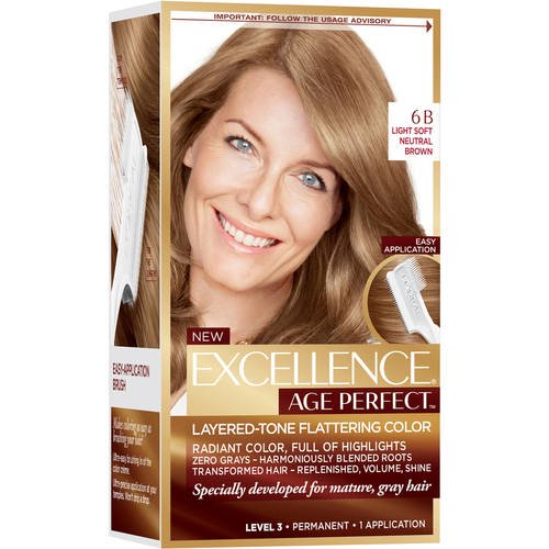 L Oreal Paris Excellence Age Perfect 6n Lights Soft Golden Brown