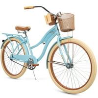 Huffy Nel Lusso Classic Cruiser Bike with Perfect Fit Frame, Women's, 26""