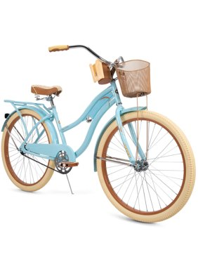 Huffy Nel Lusso Classic Cruiser Bike with Perfect Fit Frame, Women's, 26