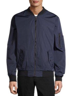 No Boundaries Men's and Big Men's Bomber Jacket, Up to Size 5XL