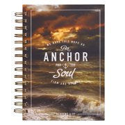 Journal Wirebound Large Anchor for the Soul