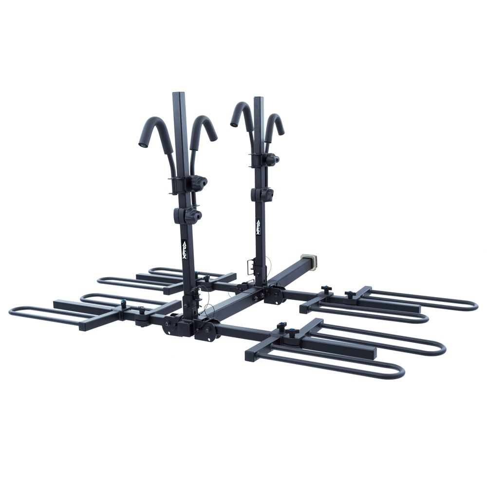 Apex Tray-Style Hitch Bike Rack 2 Bike and 4 Bike by Apex