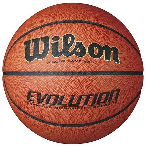 Wilson Evolution Intermediate Size Game Basketball by Wilson