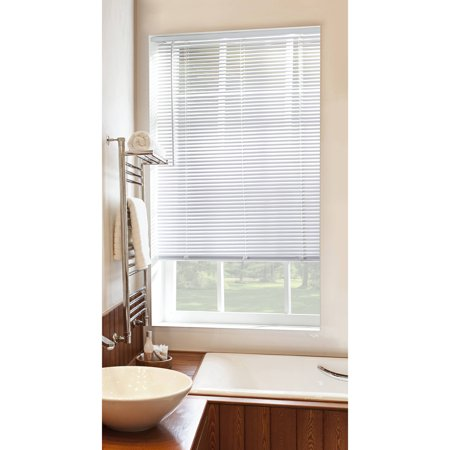 Mainstays Cordless 1 Quot Vinyl Room Darkening Blinds White