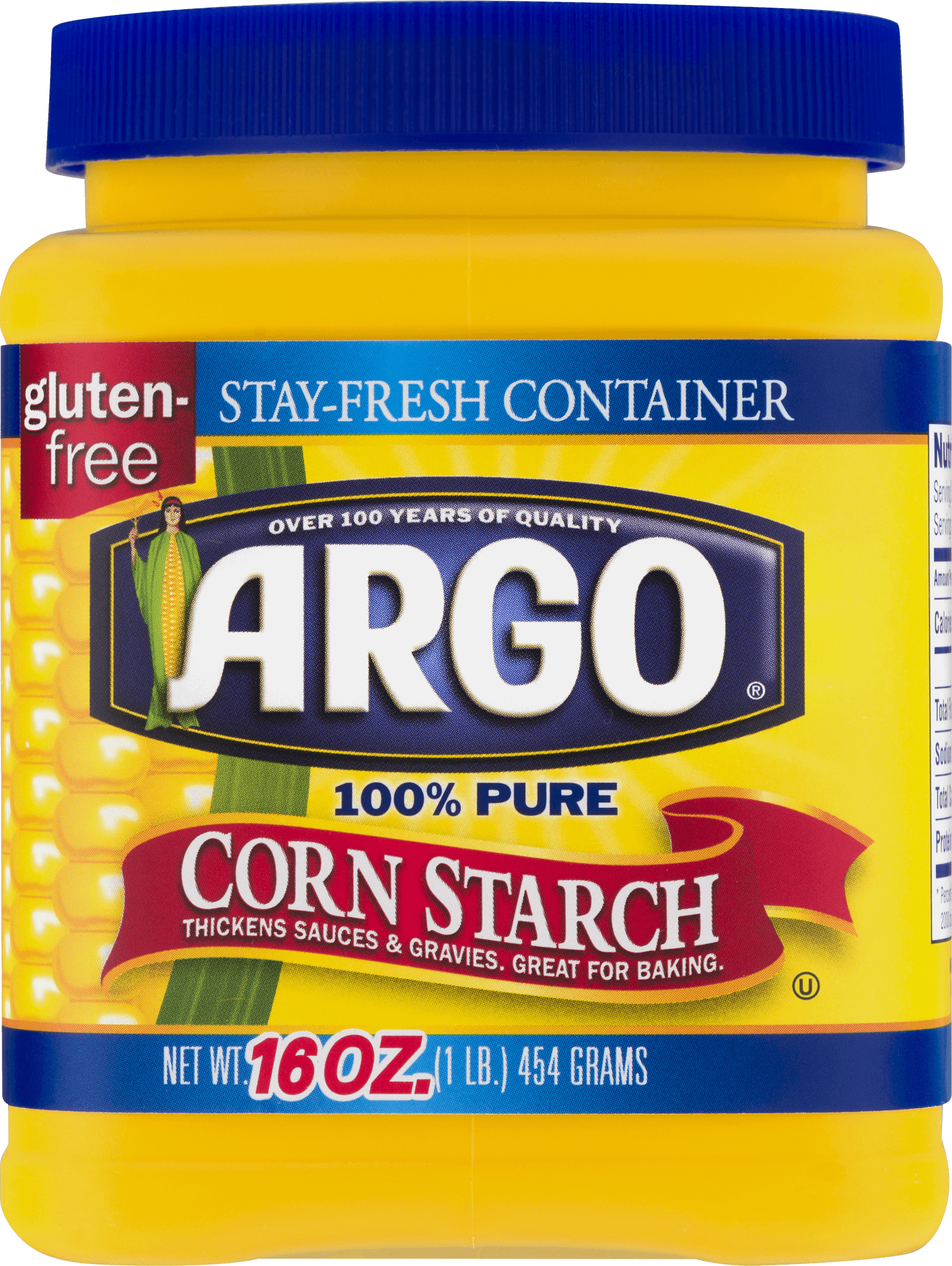 2 Pack Argo 100 Pure Corn Starch 16 Oz Walmart Com Walmart Com