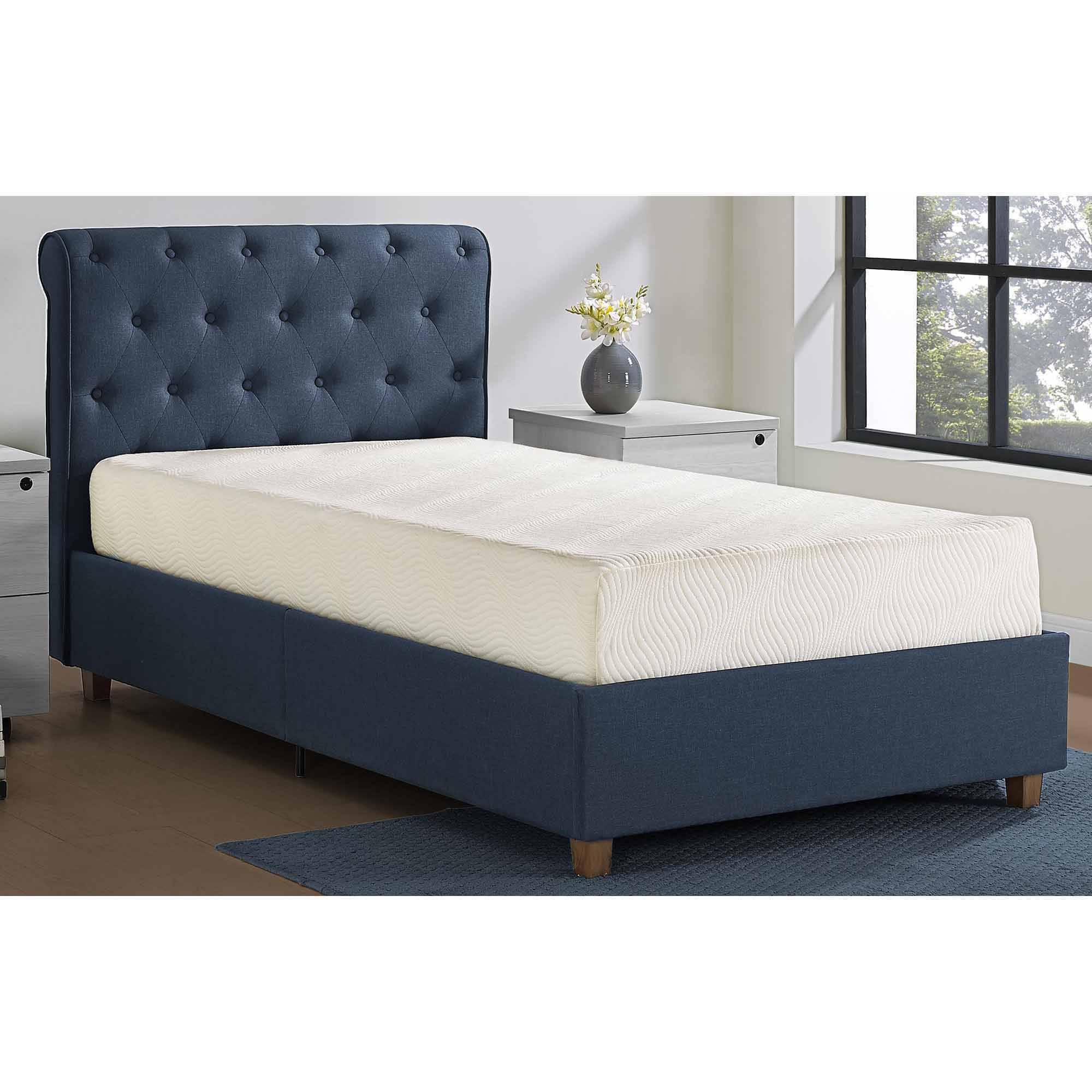"Mainstays 8"" Memory Foam Mattress, Multiple Sizes"