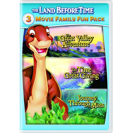 The Land Before Time II-IV 3-Movie Family Fun Pack (DVD) - Best Fun Halloween Movies