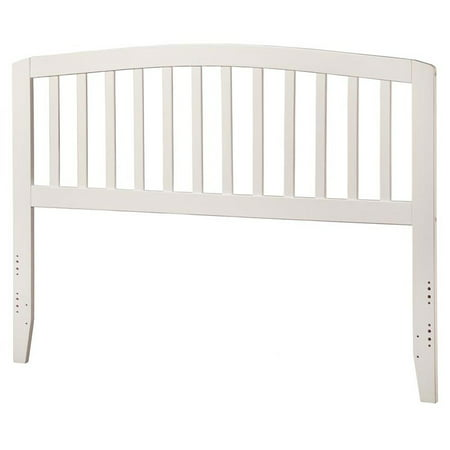 Leo & Lacey Queen Spindle Headboard in White