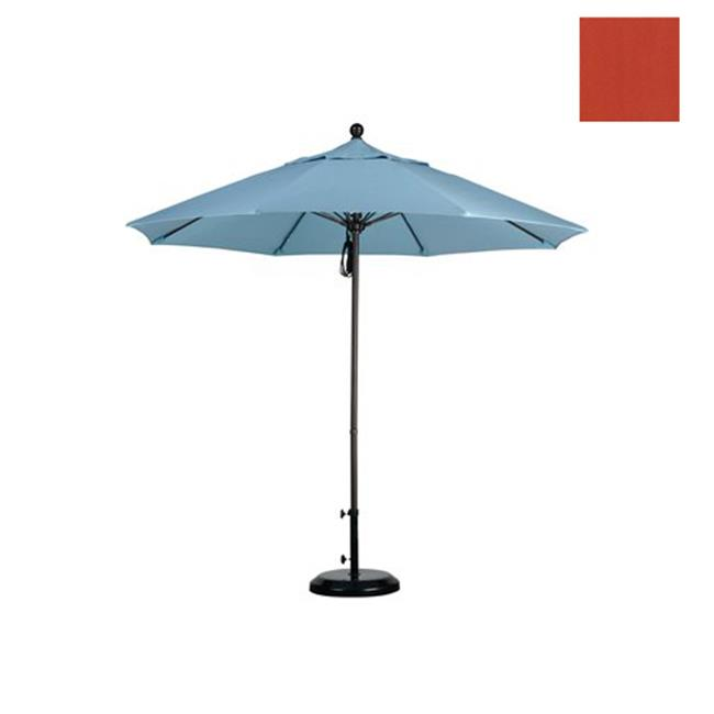 Californie Umbrella ALTO908117-F27 9 pi Fiberglass Market Umbrella Poulie ouverte Bronze-ol-fine Sunset - image 1 de 1