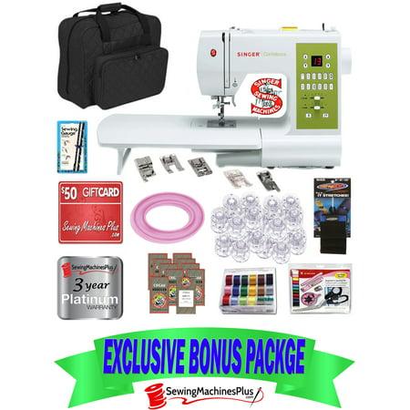 649 Value Singer 7469Q Confidence Sewing Machine W  Ext Table   Bonus Pack