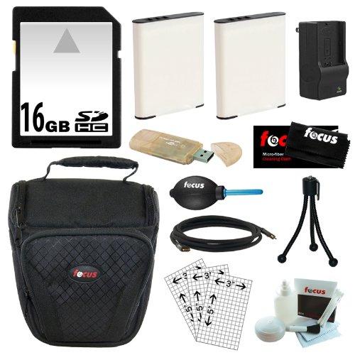 Essential Accessory Kit for the Olympus SP-610 UZ, SP-620...