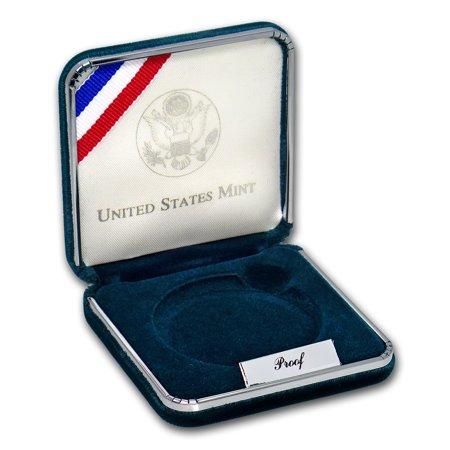 Box Coa No Coin - OGP Box & COA - 1995-P Civil War $1 Silver Commem Proof Coin