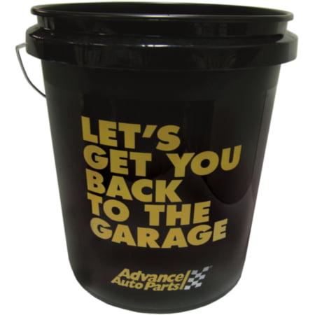 Advance Auto Parts Black Bucket - 5 Gallon, 1 gallon bucket, sold by bucket 5 Gallon Bucket Organizer