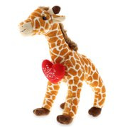 Dollibu Large Giraffe I Love You Message Stuffed Animal 16 Inch, Valentines Day Gifts For Boyfriend Or Girlfriend, Teddy Bear With Heart Plush Toy For Friend, Romantic Anniversary Or Valentine Gift