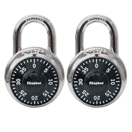 1500TWalmartbination-Alike Locks, 2-Pack, Indoor padlock is best used as a school locker lock and gym lock, providing protection and security from theft By Master