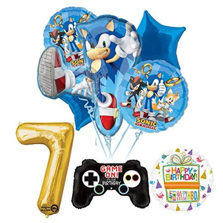 Big Party Store (The Ultimate Sonic The Hedgehog 7th Birthday Party)