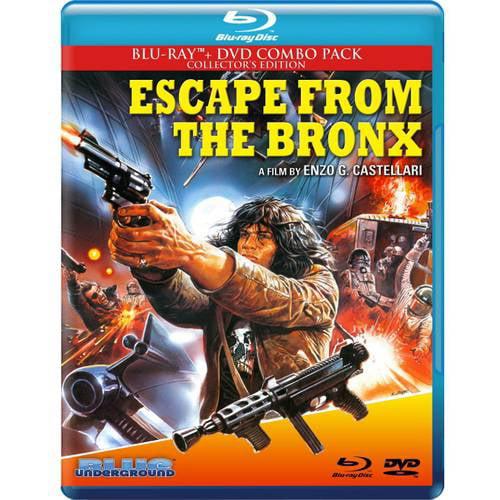 Escape From The Bronx (Blu-ray + DVD) (Widescreen) KCHBRBLU7054