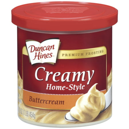 Sweet Toppings ((3 Pack) Duncan Hines Buttercream Creamy Home-Style Frosting, 16 oz )