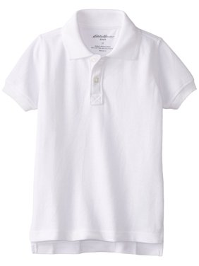 eabacbba2 Product Image Boys School Uniform Short Sleeve Pique Polo Shirt