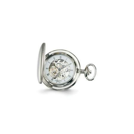 Charles Hubert Pocket Watch (Charles Hubert White Skeleton Dial Pocket Watch)