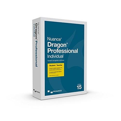 Nuance Dragon Pro Individual 15 Studen/Teacher Edition - ...