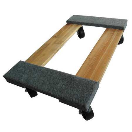 General Purpose Dolly,30x18,Carpeted ZORO SELECT 48J069