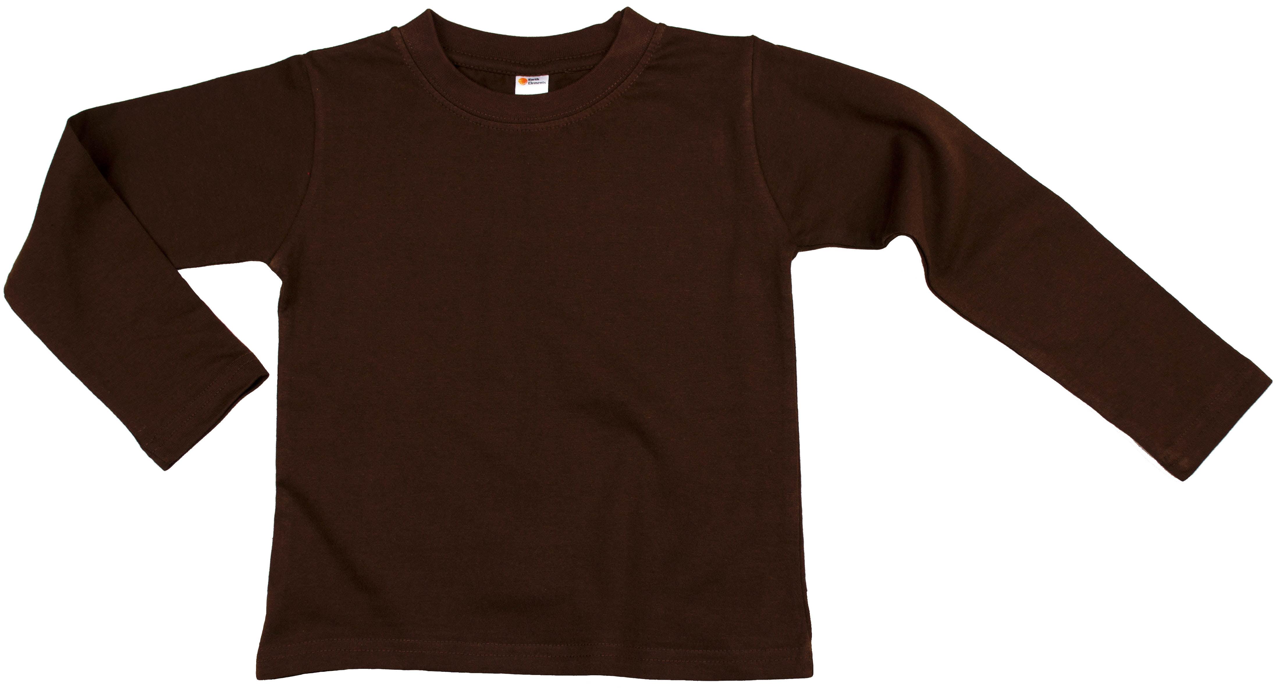 Earth Elements Baby Boys' Long Sleeve Bodysuit One-Piece 100/% Cotton