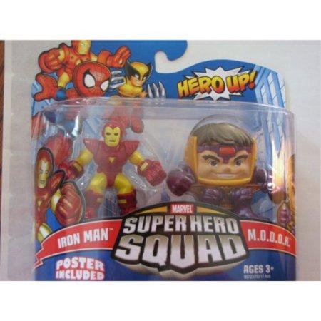 Marvel Superhero Squad Series 16 Mini 3 Inch Figure 2Pack Iron Man and Modok (Modok Figure)