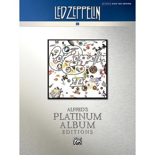 Alfred Led Zeppelin: III Platinum Bass Guitar