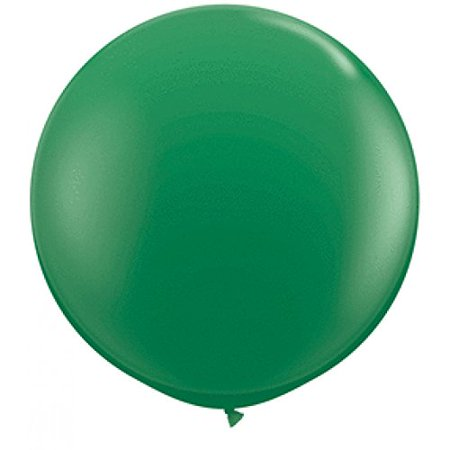 Round Latex Giant Balloon (Pack of 2), 3', Grass Green, Sold by set of 2 By Koyal Wholesale](Greek Wholesale)