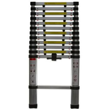 OxGord 12.5 Ft Telescoping Aluminum Extension Ladder