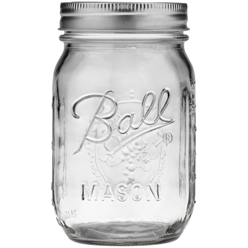 ball 16 oz mason jars. ball 16 oz regular mouth jar mason jars l