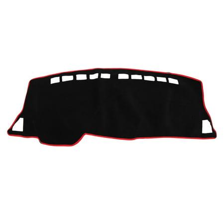Black Red Polyester Dashboard Sun Cover Dash Mat Carpet Pad for Nissan  Bluebird | Walmart Canada