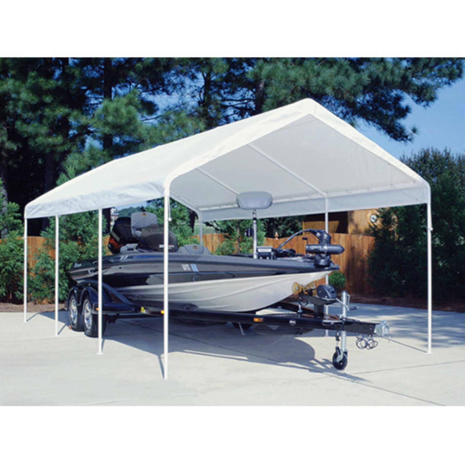 King Canopy 12 x 20 ft. Drawsting Carport Cover