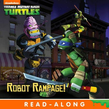 Robot Rampage (8x8 Storybook Version) (Teenage Mutant Ninja Turtles) - eBook