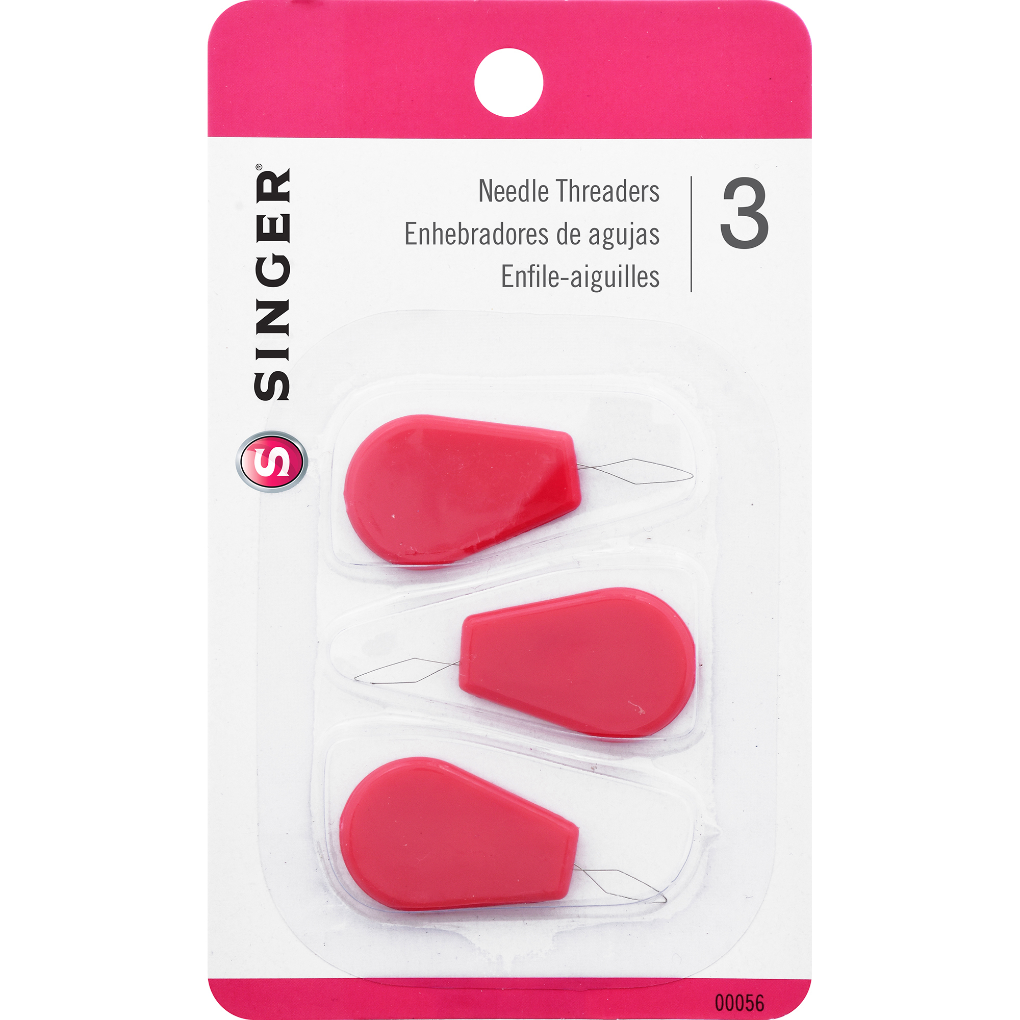 Singer Needle Threaders, 3-Pack