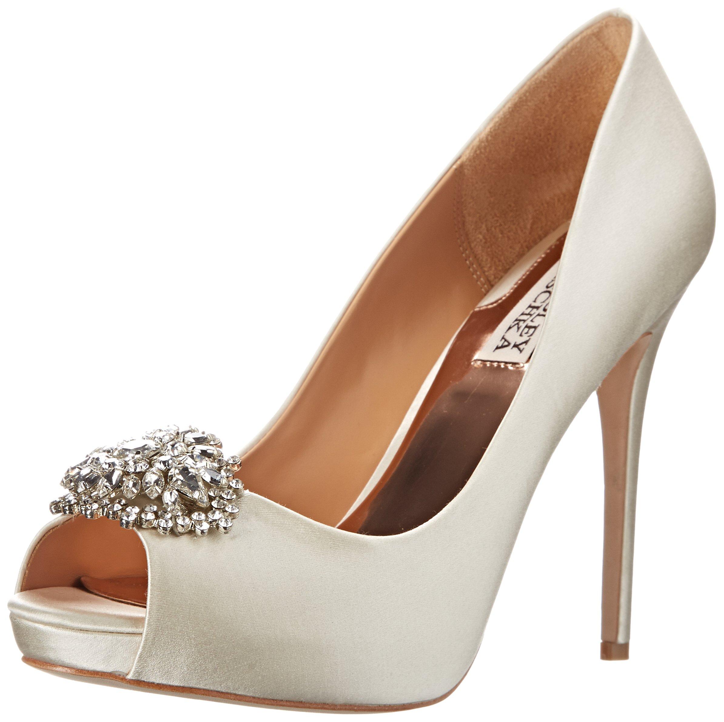 Badgley Mischka New Ivory Women Shoe Size 10M Jeannie Pump by Badgley Mischka