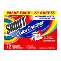 Color Catcher Dye Trapping Sheets, 72.0 Count
