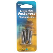 Unique Accessories 93366 Stainless Steel Self Threading License Plate Fasteners, 4 Pack