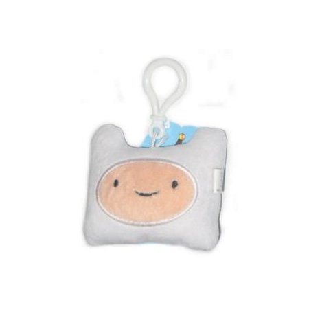 Adventure Time Finn Face Plush Clip On