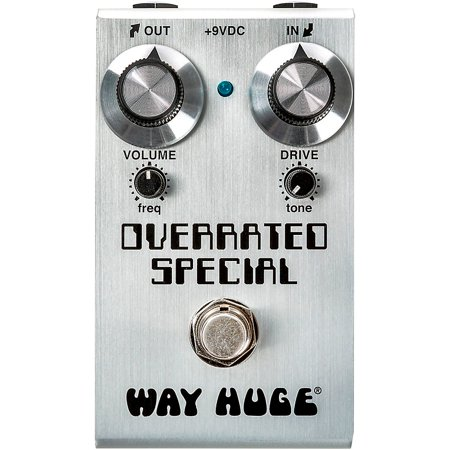 Way Huge Electronics Mini Overrated Special Overdrive Effects Pedal